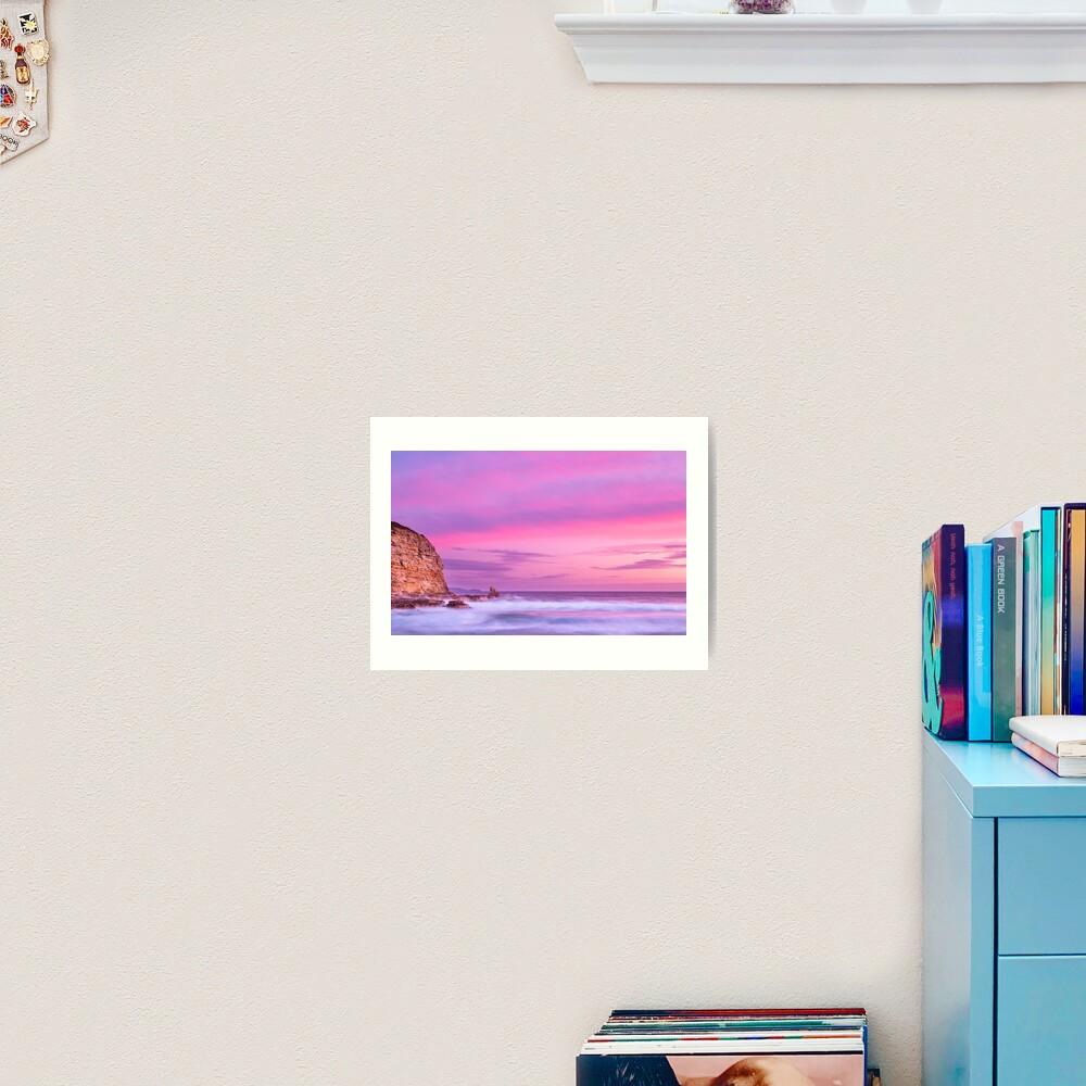 Cape Deslacs Sunset Art Print