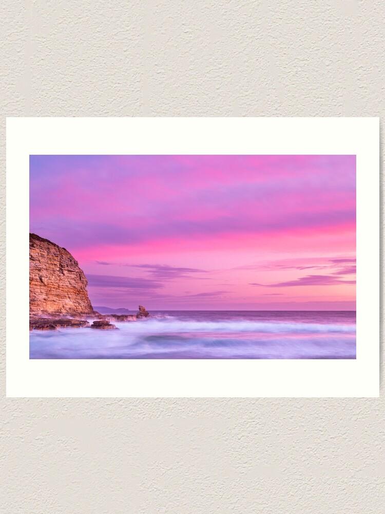 Alternate view of Cape Deslacs Sunset Art Print