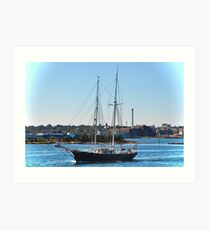 Schooner of Massachusetts Art Print