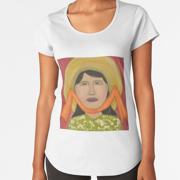 Ms Lan and the Hat Premium Scoop T-Shirt
