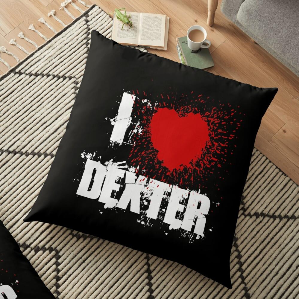 I Love Dexter Floor Pillow