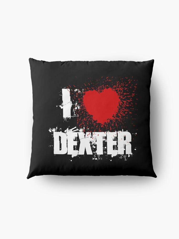 Alternate view of I Love Dexter Floor Pillow