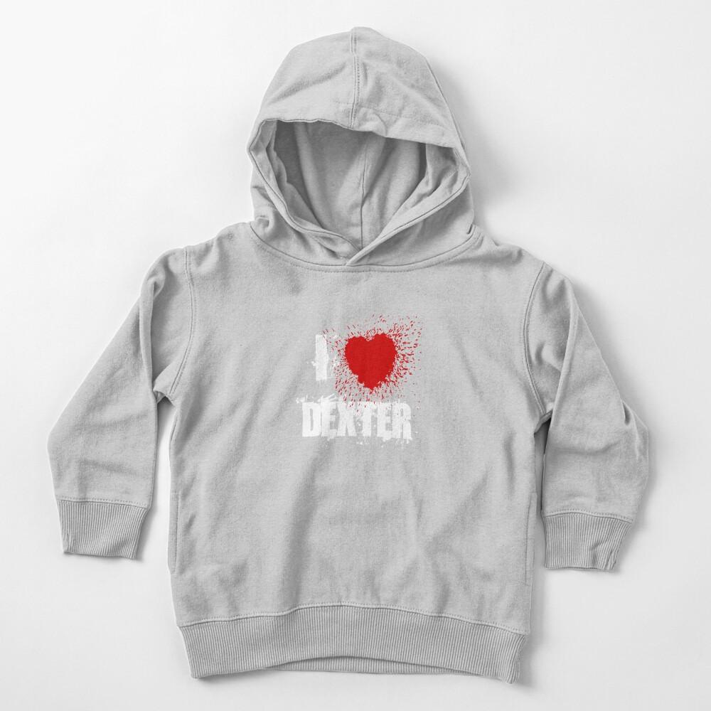 I Love Dexter Toddler Pullover Hoodie