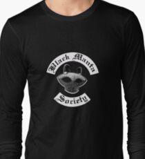 Black Manta Society Long Sleeve T-Shirt