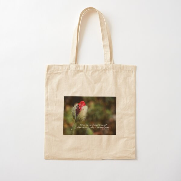 Give Hope Cotton Tote Bag