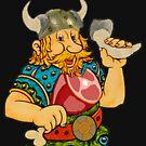 Cute Viking T-Shirt by MaluC