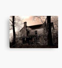 Haunted Canvas Print