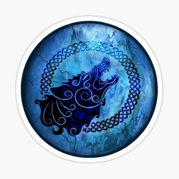 Celtic Wolf Symbol  Sticker
