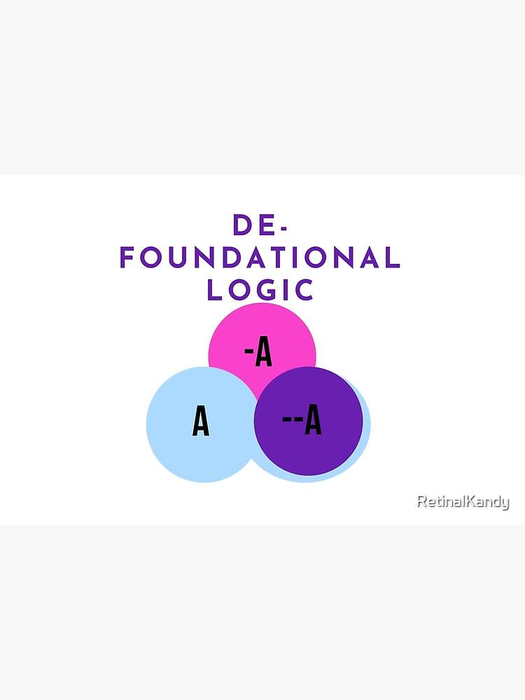 DE-FOUNDATIONAL LOGIC by RetinalKandy