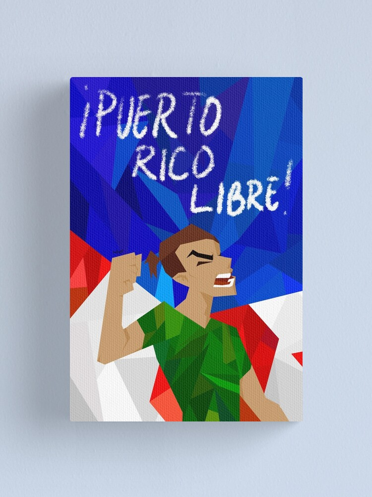 Alternate view of puerto rico libre Canvas Print