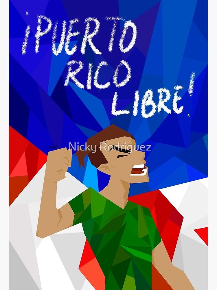 puerto rico libre by artoftiffanyr