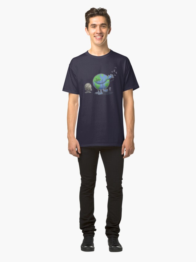 Alternate view of End of the world Classic T-Shirt