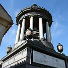 Family tomb, Recoleta cemetery. by Maggie Hegarty