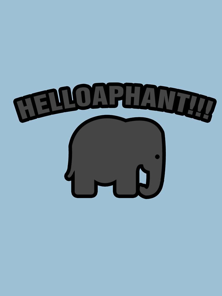 Helloaphant!!! by BaronVonRosco