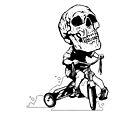 BigHeadSkullKid by matthewdunnart