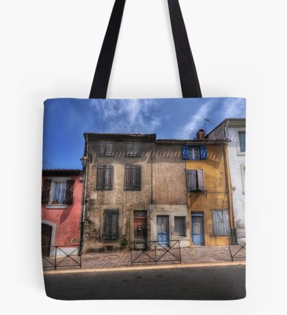 Dwellings of Carcassonne Tote Bag