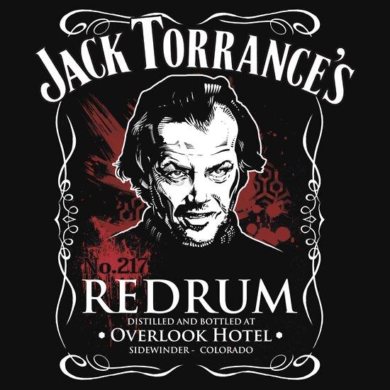 TShirtGifter presents: Jack Torrance's Redrum