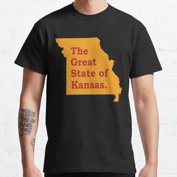 The Great State Of Kansas City Chiefs Classic T-Shirt
