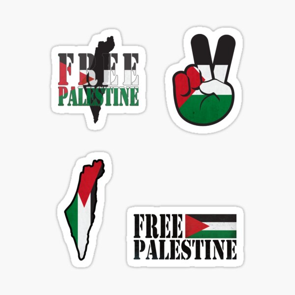 Free Palestine Sticker set Sticker