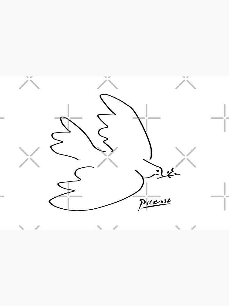 Picasso - Dove of peace by no-1