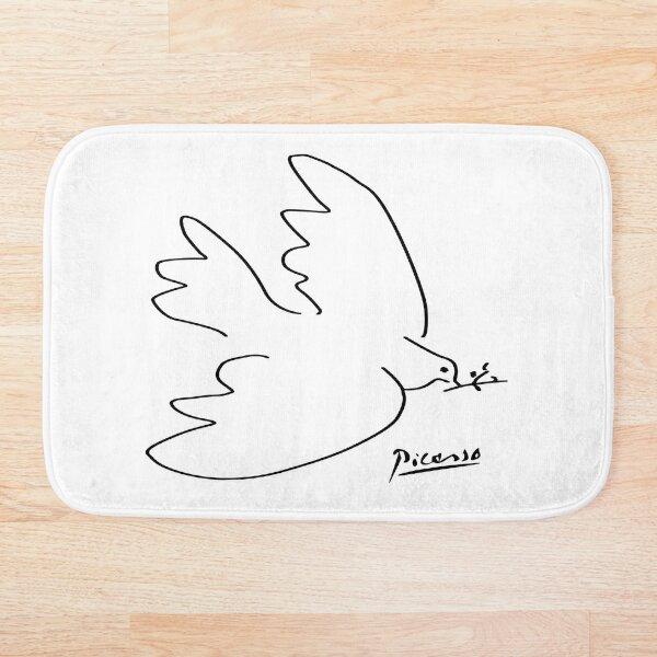 Picasso - Dove of peace Bath Mat
