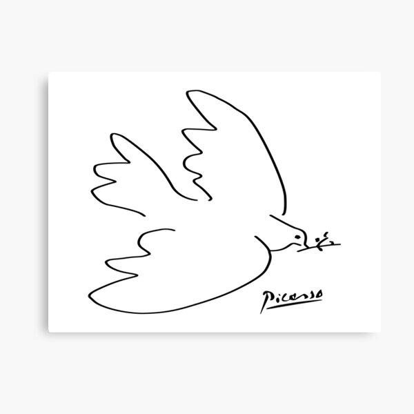 Picasso - Dove of peace Canvas Print