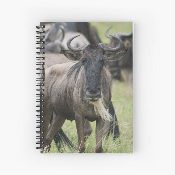 Wildebeest  Spiral Notebook