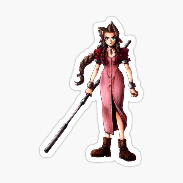 Final Fantasy Aerith Sticker