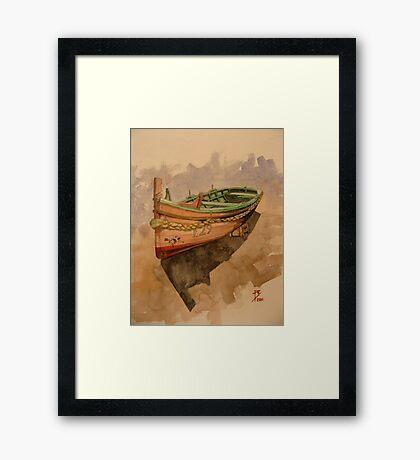 Dghajsa Framed Print