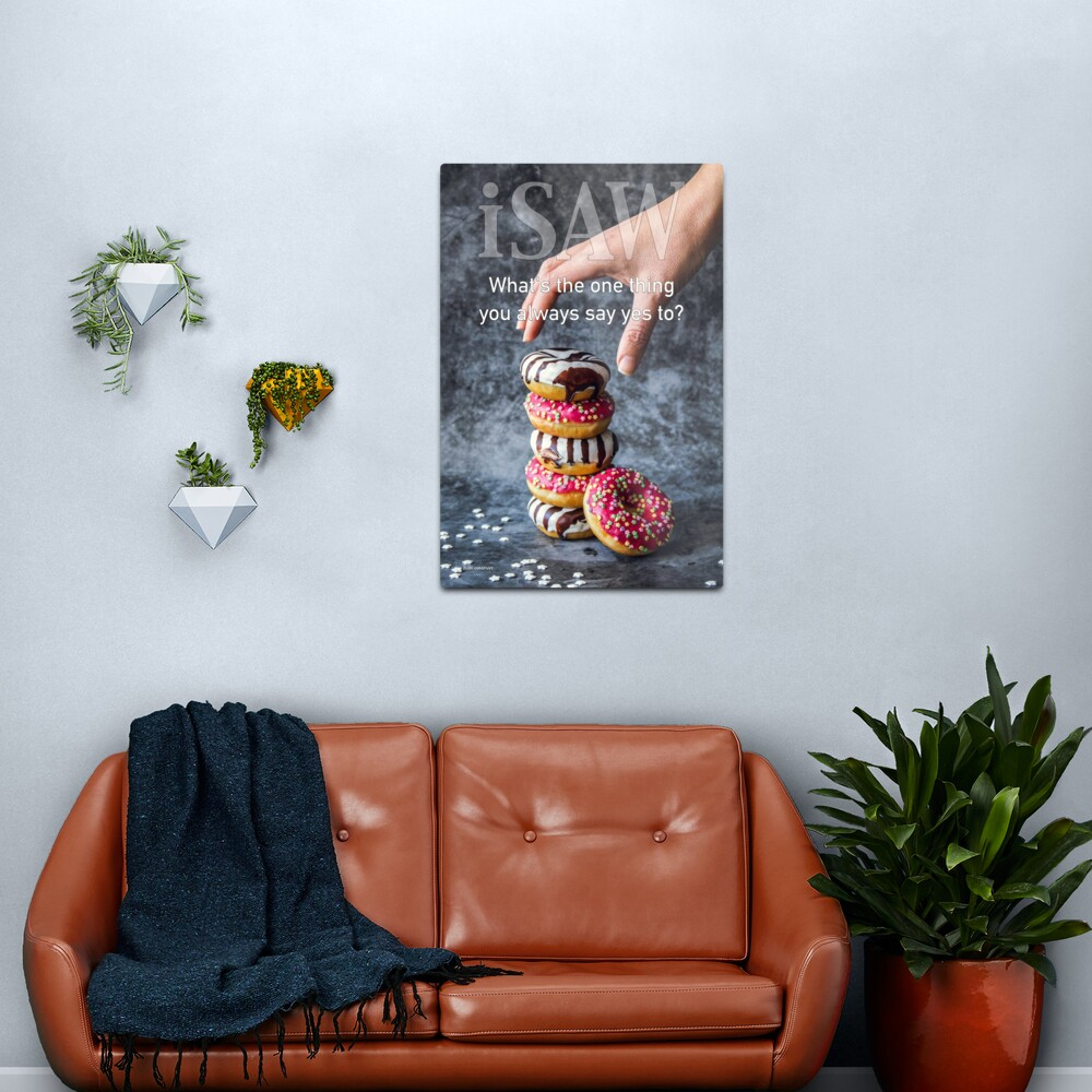 What's The One Thing You Always Say Yes To Metal Print