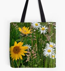 Mixed Group ~ Wildflowers ~ Tote Bag