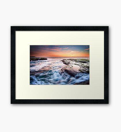 Canyon X Framed Print