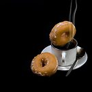 coffee and doughnuts by andyw