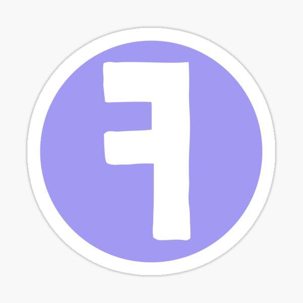 Flip Screen Logo Sticker