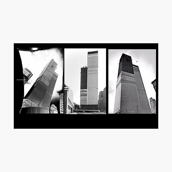 World Trade Center Triptych 1971 Photographic Print