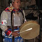 jingle dancer drums by Christine Ford