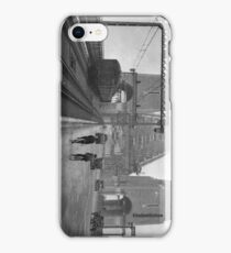 First cars and trains across Sydney Harbour Bridge, March 1932 iPhone Case/Skin