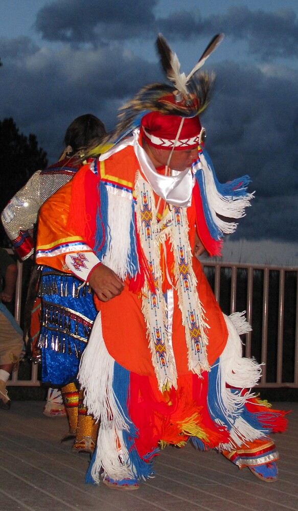Ute Grass Dancer by Christine Ford