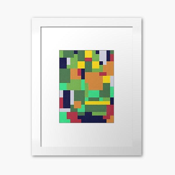 Olive Green Framed Art Print