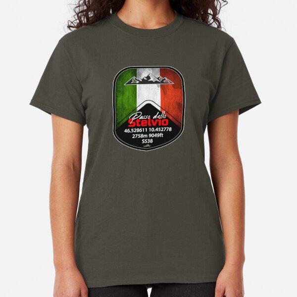Stelvio Pass - Passo Dello Stelvio Sticker & T Shirt Italy Italia Classic T-Shirt