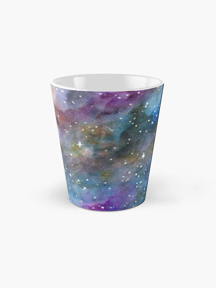 Alternate view of Galaxy Watercolor Mug