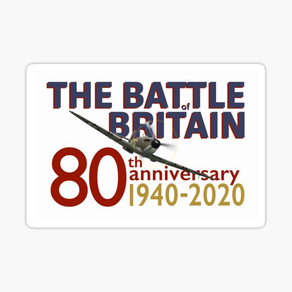 Battle of Britain 80th anniversary poster Sticker