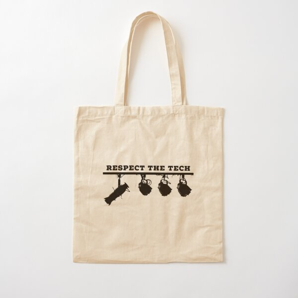 respect the tech Cotton Tote Bag