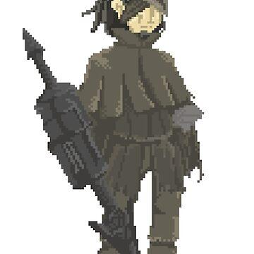 Pixelborne - Djura, the Retired Hunter by Tande