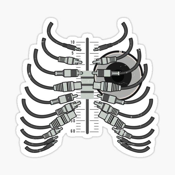 Sound Guy Engineer DJ Audio Technician Gift Sticker