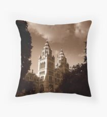 Natural History Museum, London Throw Pillow