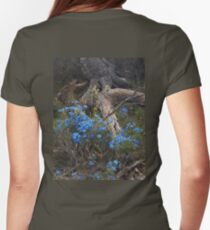 Lechenaultia and Tree Womens Fitted T-Shirt