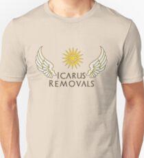 Icarus Removals (light version) Unisex T-Shirt