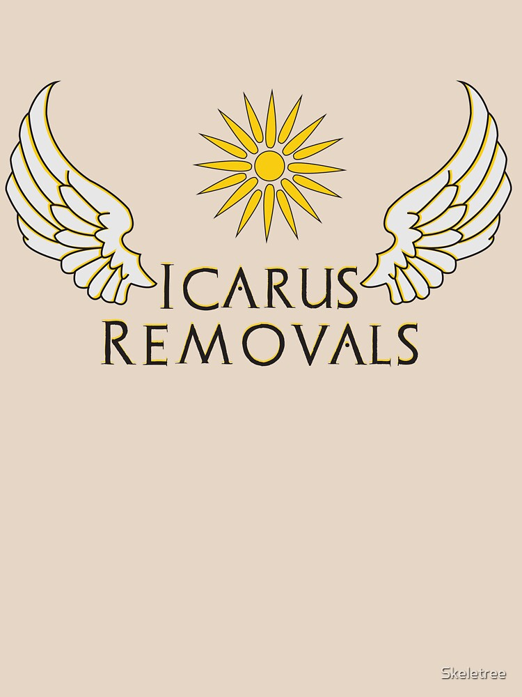 Icarus Removals (light version) | Unisex T-Shirt