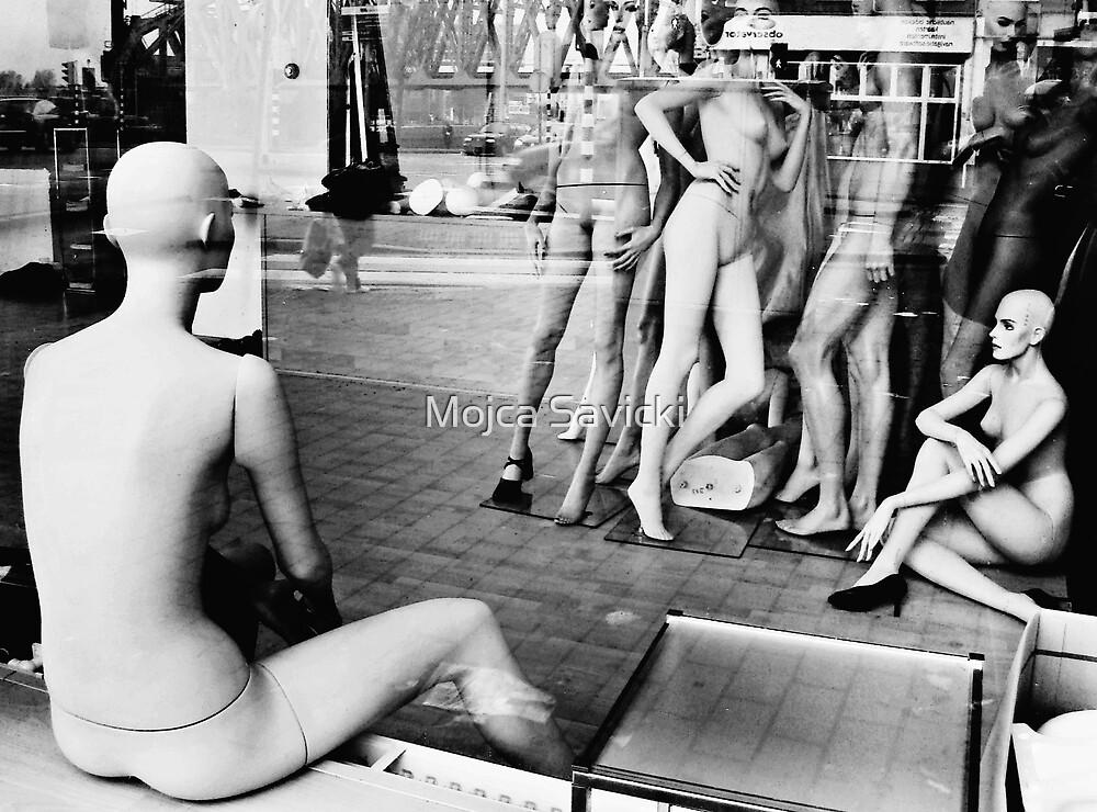 Waiting For A Job by Mojca Savicki